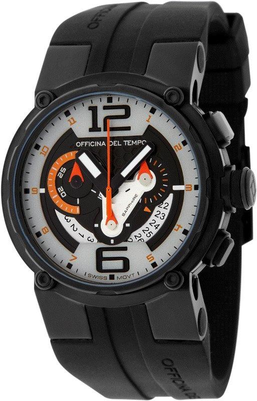 Наручные часы Officina del Tempo Racing Chronograph OT1051-1241GON