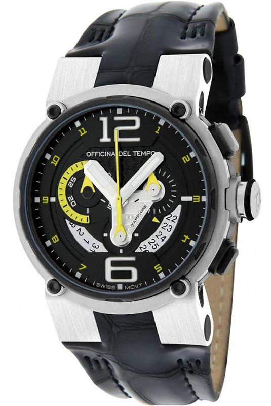 Наручные часы Officina del Tempo Racing Chronograph OT1051-1440NYN