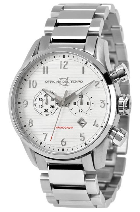 Наручные часы Officina del Tempo Style II Chronograph OT1033-112A