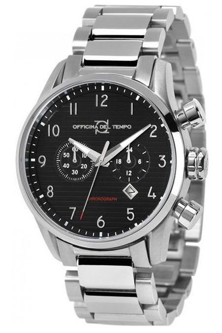 Наручные часы Officina del Tempo Style II Chronograph OT1033-112N