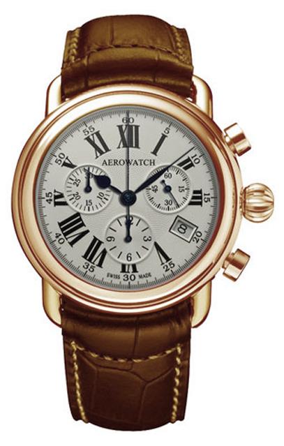 Наручные часы Aerowatch Chronograph Quartz 1942 83926 RO01