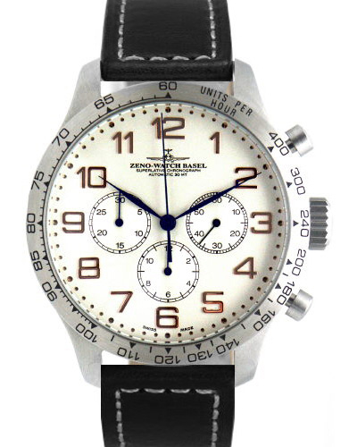 Наручные часы Zeno-Watch Basel OS Tachymeter Retro 8559TH-3T-f2