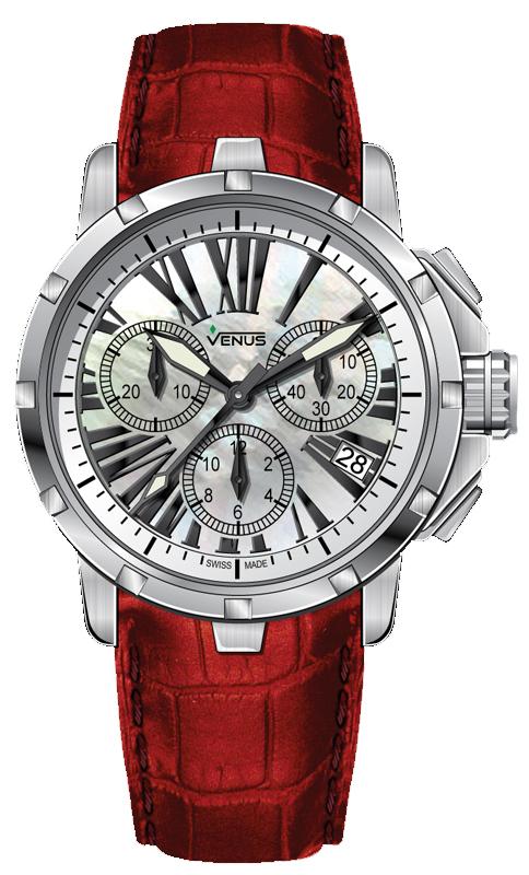 Наручные часы Venus Quartz Chronograph VE-1315A1-14-L5