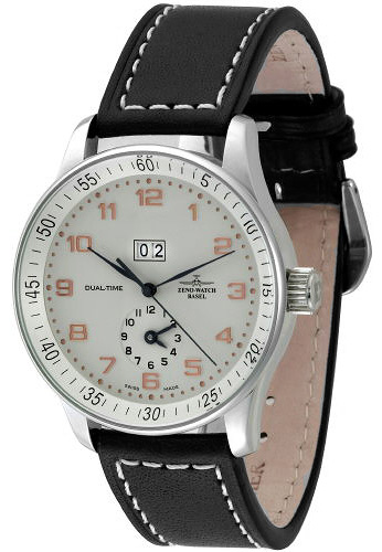 Наручные часы Zeno-Watch Basel X-Large Dual Time P561-f2