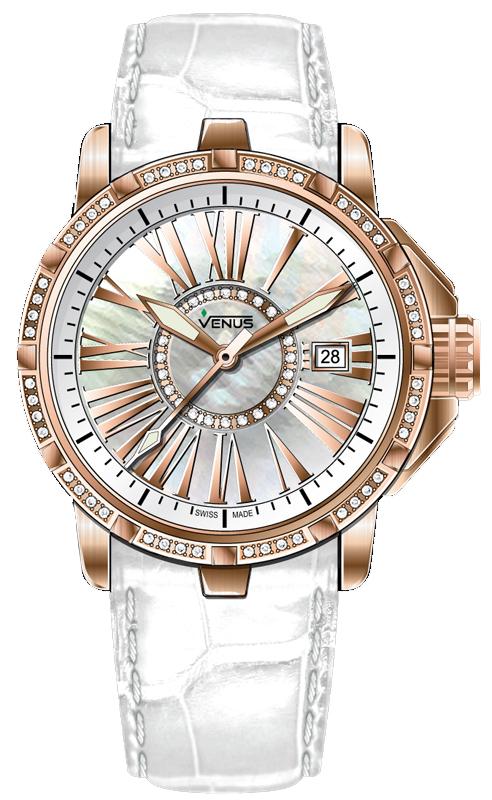 Наручные часы Venus Time-Date With Diamonds VE-1316B6-64-L1