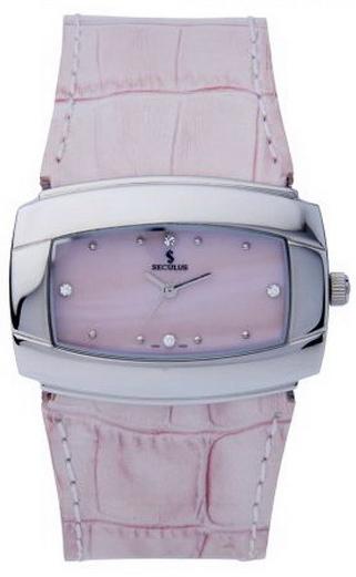 Наручные часы Seculus 1594 1594.1.763 mop.ss.pink leather