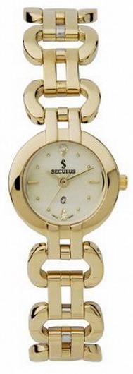 Наручные часы Seculus 1598 1598.1.763 white,gp