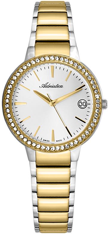 Купить Наручные Часы Adriatica Ladies Band 3415 3415.2113Qz