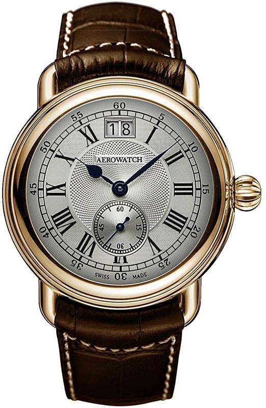 Наручные часы Aerowatch Classic Quartz 1942 Small Second 41900 RO01