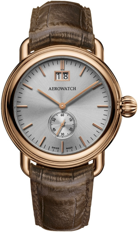 Наручные часы Aerowatch Classic Quartz 1942 Small Second 41900 RO03