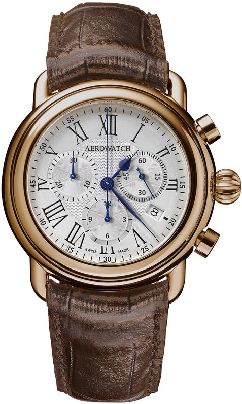 Наручные часы Aerowatch Chronograph Quartz 1942 84934 RO08