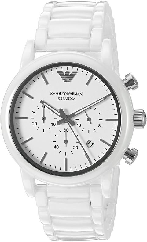Наручные часы Armani Ceramic Chronograph Watch AR1499