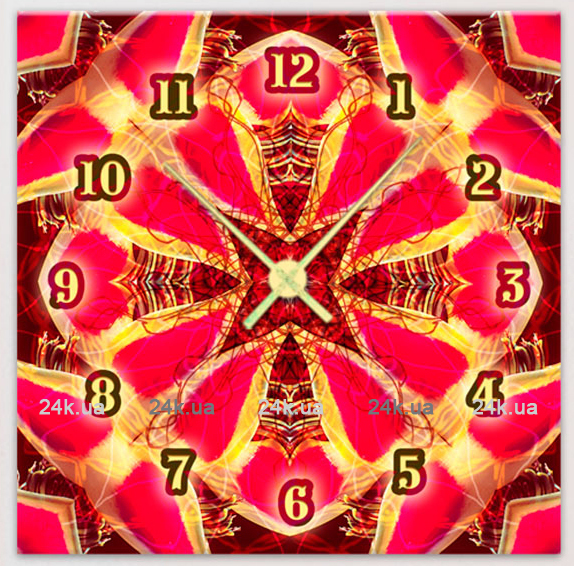 Часы Art-Life Картины-часы 1C-110-25x25-W