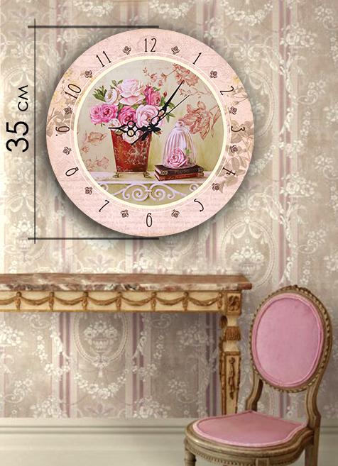 Часы Art-Life Акриловые часы 4А-3-35х35