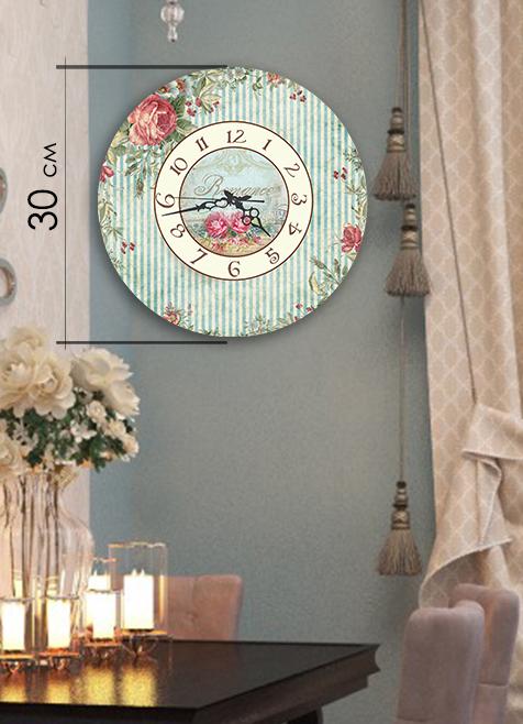 Часы Art-Life Акриловые часы 4А-7-30х30