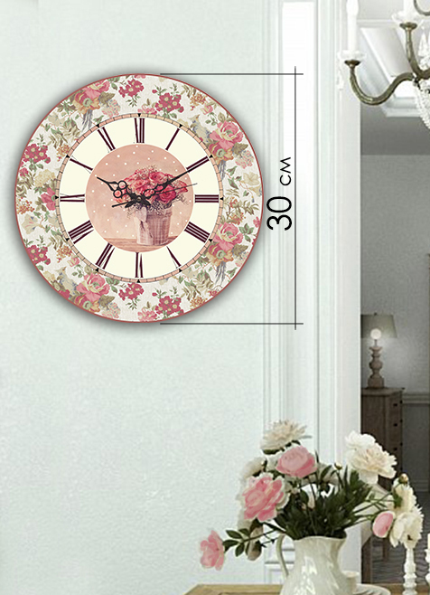 Часы Art-Life Акриловые часы 4А-8-30х30
