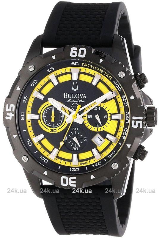 Наручные часы Bulova Marine Star Chronograph 11 98B176