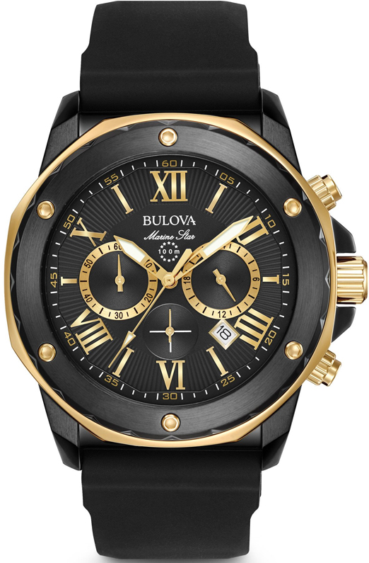 Наручные часы Bulova Marine Star Chronograph 1 98B278