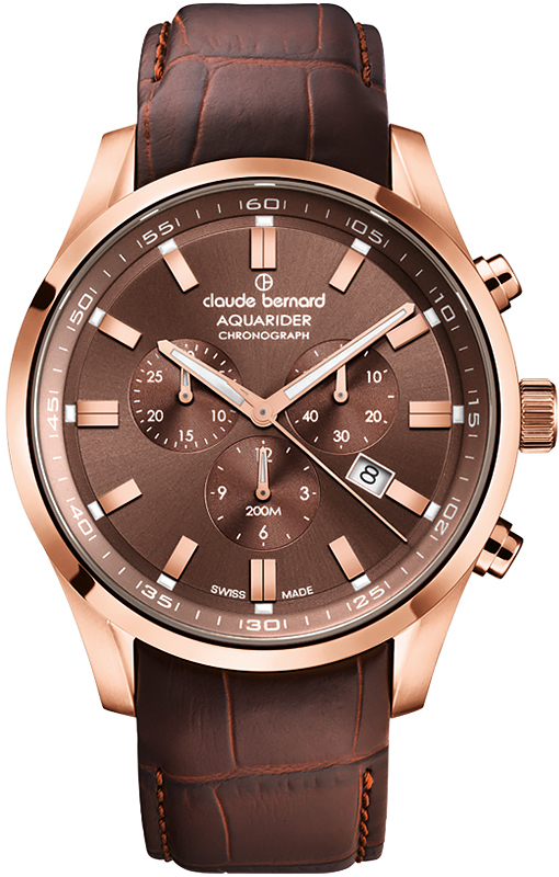 Наручные часы Claude Bernard Aquarider Chronograph 10222 37RC BRIR1