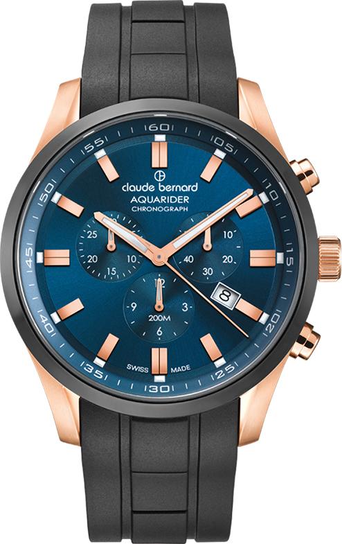 Наручные часы Claude Bernard Aquarider Chronograph 10222 37RNCA BUIR1