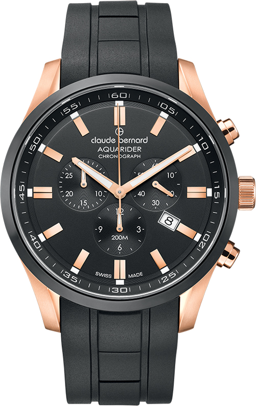 Наручные часы Claude Bernard Aquarider Chronograph 10222 37RNCA NIR