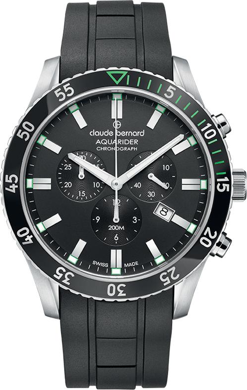 Наручные часы Claude Bernard Aquarider Chronograph 10223 3NVCA NV