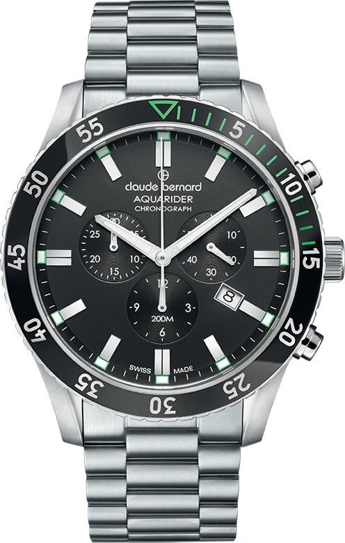 Наручные часы Claude Bernard Aquarider Chronograph 10223 3NVM NV