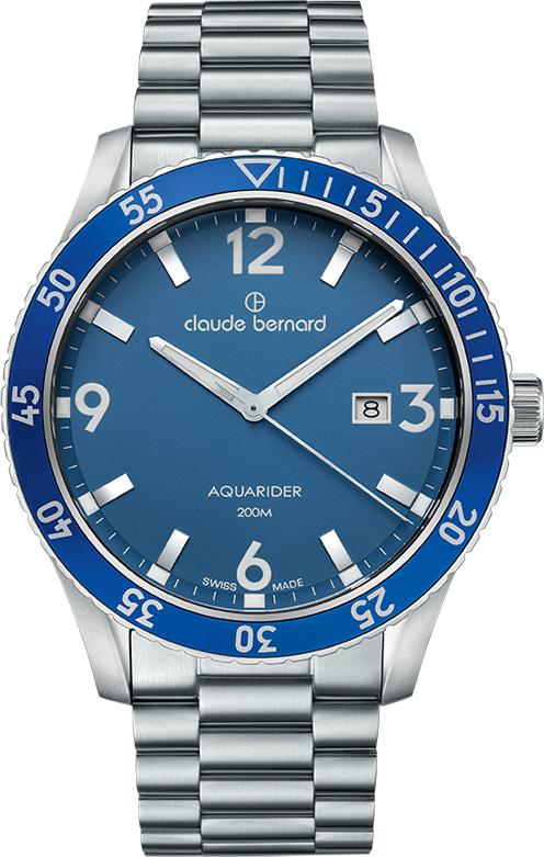 Наручные часы Claude Bernard Aquarider 53008 3MBU BUIN