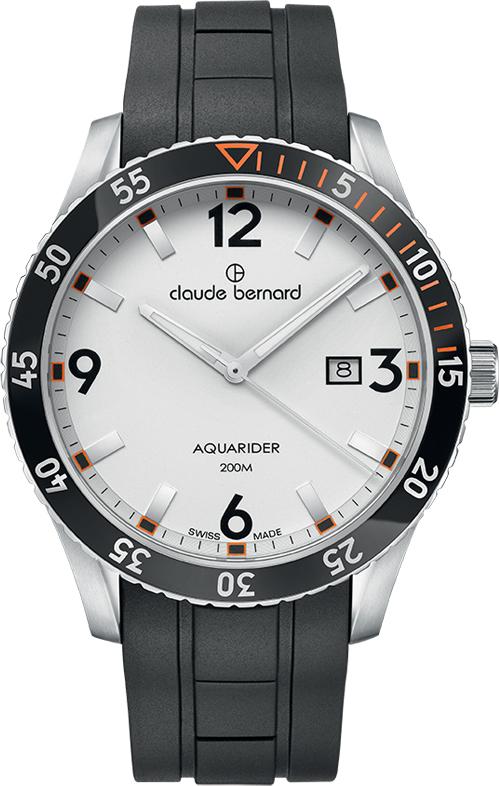 Наручные часы Claude Bernard Aquarider 53008 3NOCA AO