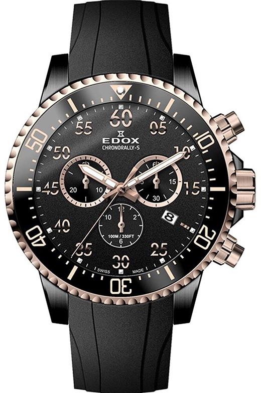 Наручные часы Edox Chronorally-S Chronograph 10227 357RNCA NBR