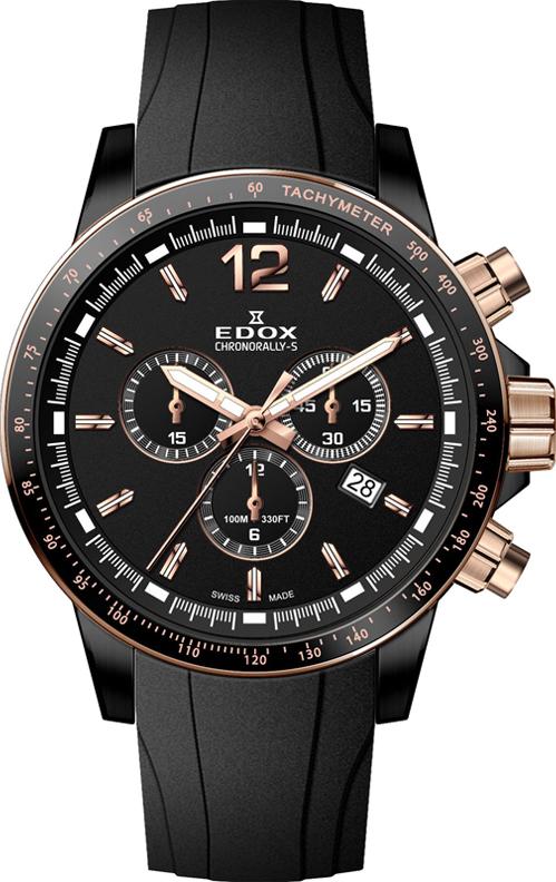 Наручные часы Edox Chronorally-S Chronograph 10229 357NRCA NIR