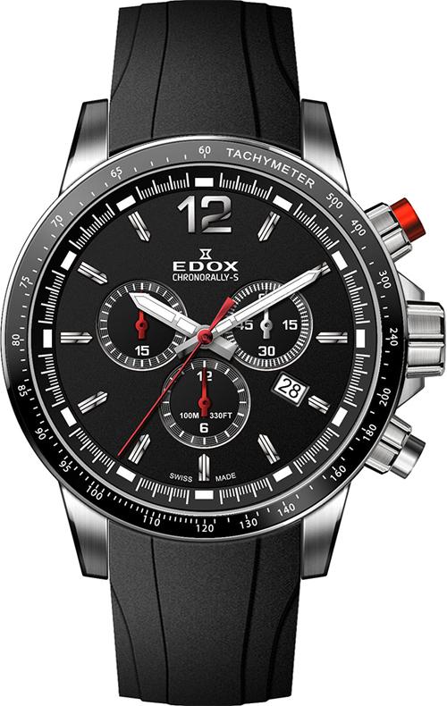 Наручные часы Edox Chronorally-S Chronograph 10229 3CA NIN