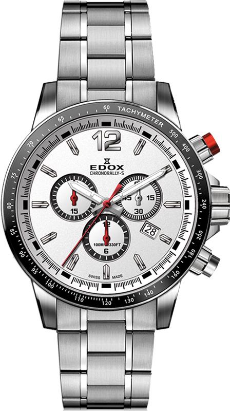 Наручные часы Edox Chronorally-S Chronograph 10229 3M AIN