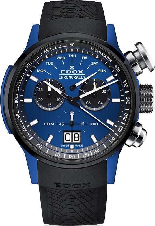 Наручные часы Edox Chronorally 38001 TINBU1 BUIB1