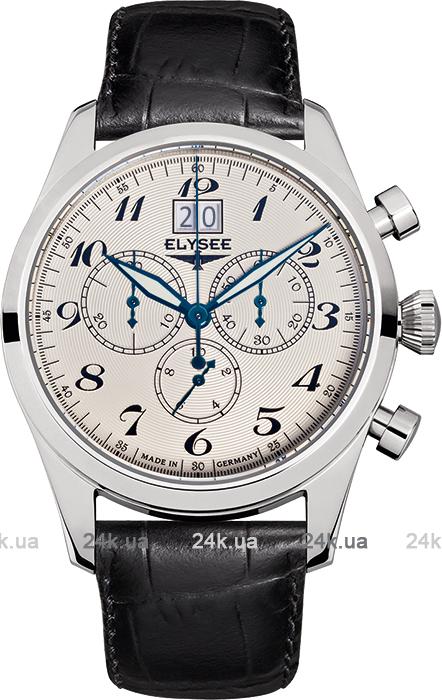 Наручные часы Elysee Classic Chronograph Big Date 38015