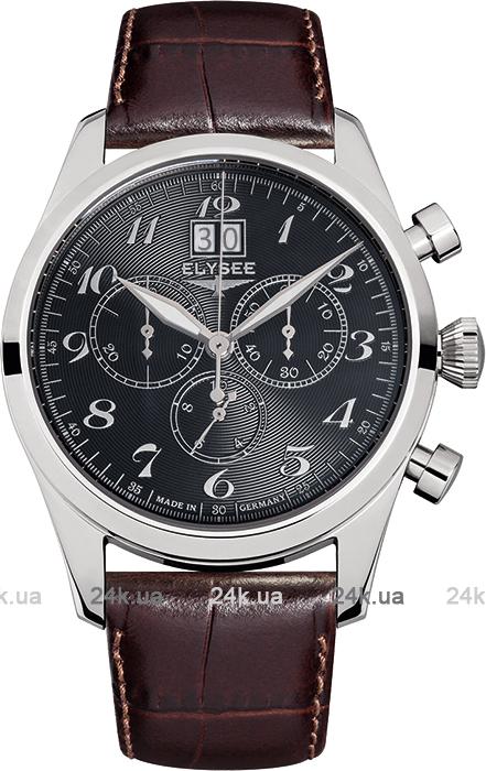 Наручные часы Elysee Classic Chronograph Big Date 38016