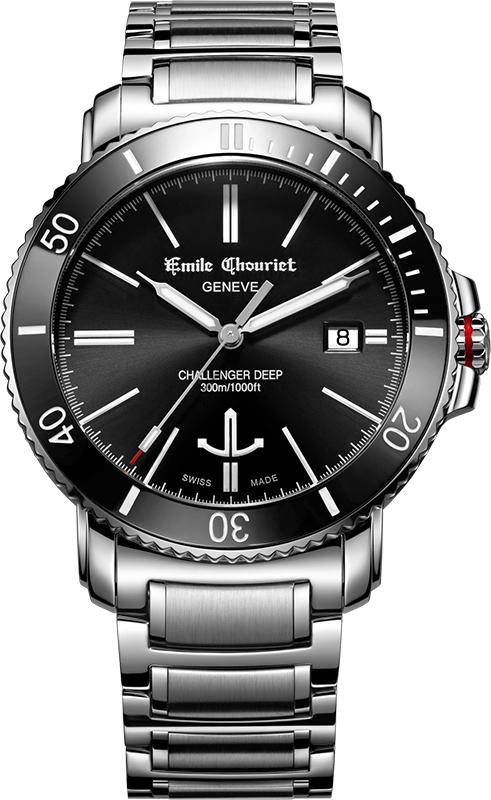 Наручные часы Emile Chouriet Challenger Deep 08.1169.G.6.AW.58.6
