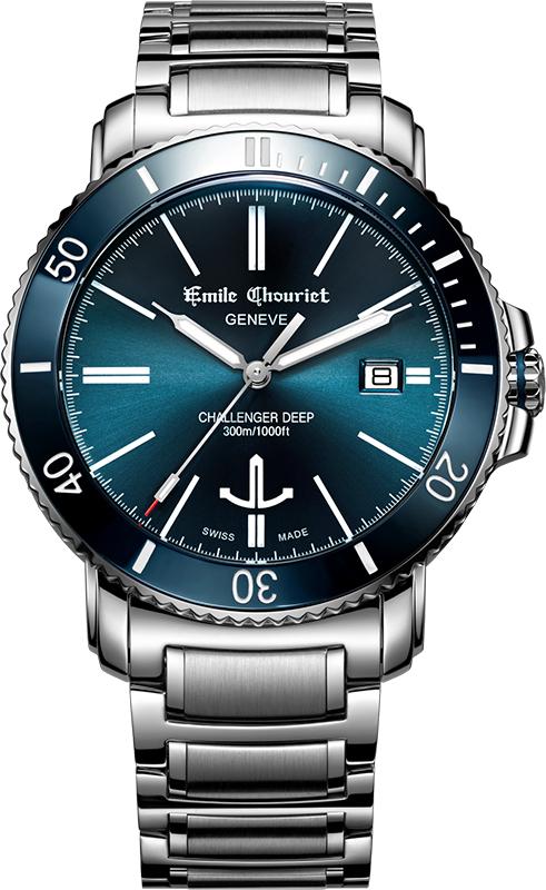 Наручные часы Emile Chouriet Challenger Deep 08.1169.G.6.AW.98.6