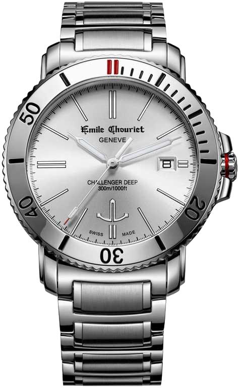 Наручные часы Emile Chouriet Challenger Deep 08.1169.G.6.W.28.6