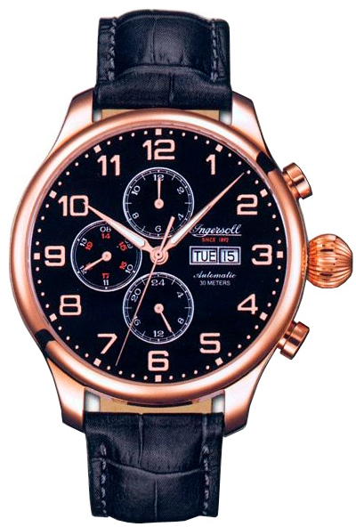 Наручные часы Ingersoll Apache Multifunction Automatic IN3900RBK