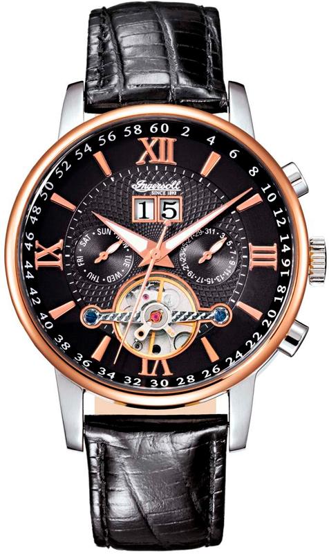 Наручные часы Ingersoll Grand Canyon IV Multifunction Automatic IN6900RBK