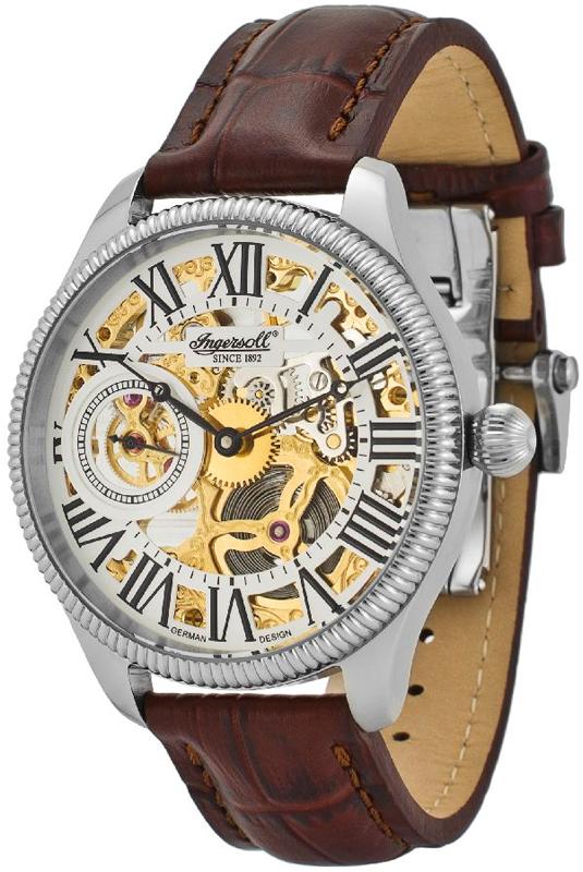 Наручные часы Ingersoll Arizona II Skeleton Automatic IN7904WHG