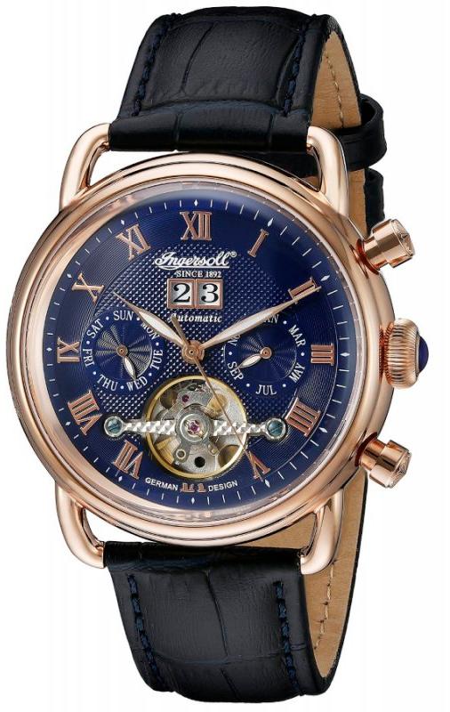 Наручные часы Ingersoll Ellsworth Multifunction Automatic IN8210RBL