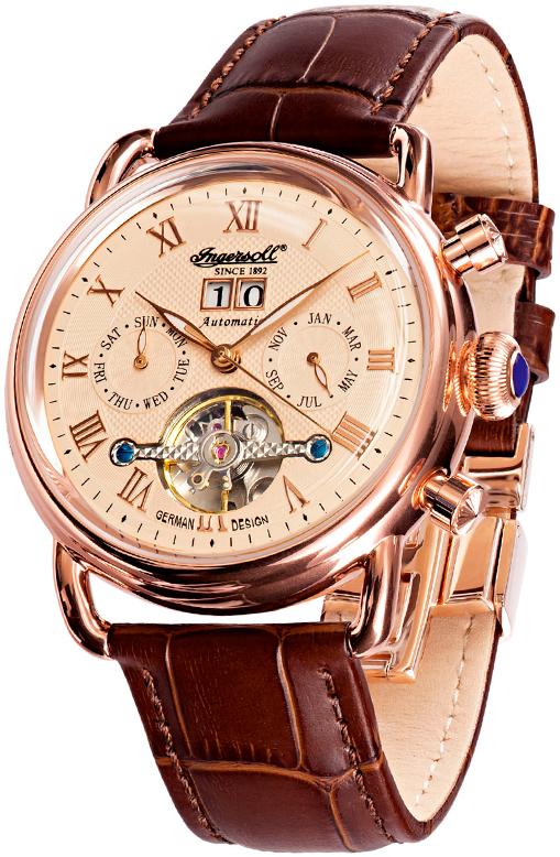 Наручные часы Ingersoll Ellsworth Multifunction Automatic IN8210RG