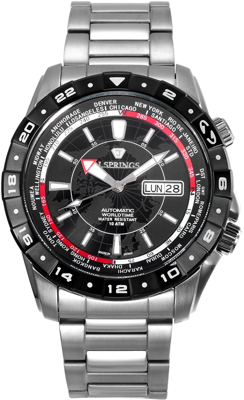 Наручные часы J.Springs Automatic Sports Day-Date GMT BEB055