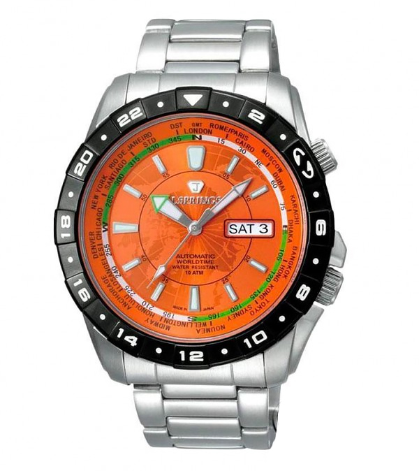 Наручные часы J.Springs Automatic Sports Day-Date GMT BEB056