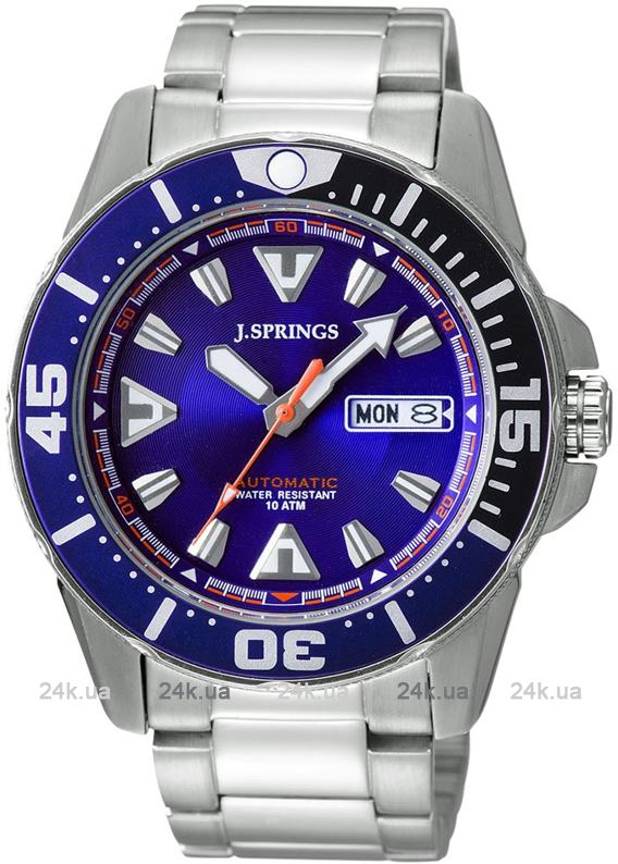 Наручные часы J.Springs Automatic Sports Day-Date BEB080