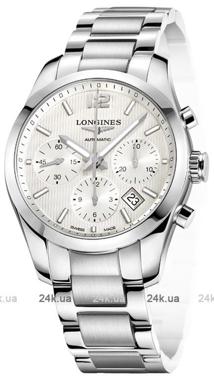 Наручные часы Longines Conquest Chronograph L2.786.4.76.6