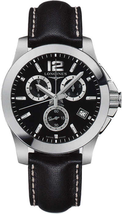 Наручные часы Longines Conquest Chronograph L3.660.4.56.0