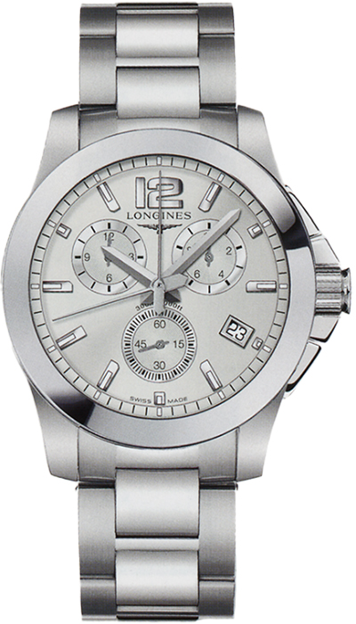 Наручные часы Longines Conquest Chronograph L3.660.4.76.6